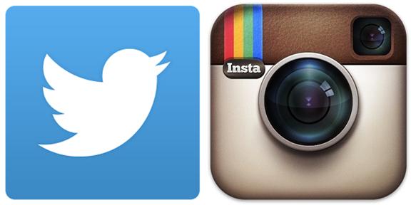 twitter instram logo
