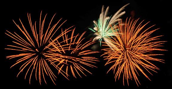 fireworks franciacorta