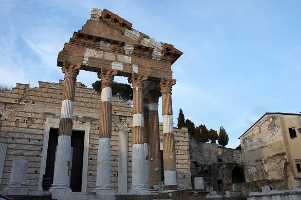 capitolino rovine romane brescia