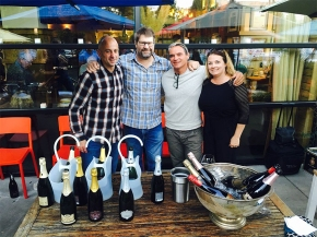 Thank you, Nostrana! Thank you, Portland, for a great tasting andevening!